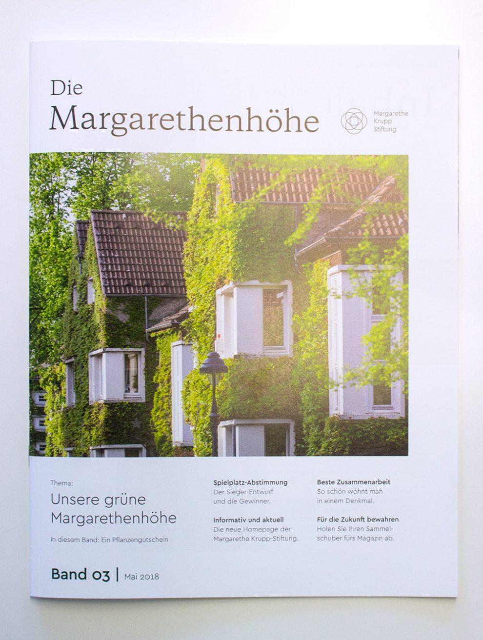 Service auf der Margarethenhöhe | Margarethe Krupp Stiftung